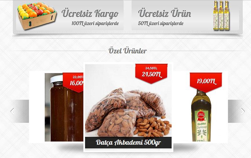 EgedenSofraya.com E-Ticaret Sitesi
