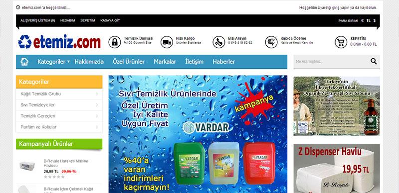 etemiz.com e-ticaret sitesi